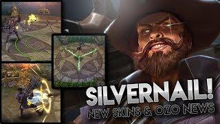 NEW HERO SILVERNAIL + OZO NEWS!!? Vainglory News [Update 3.6]