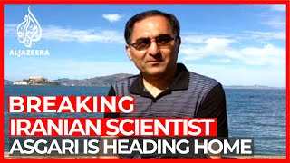 Iranian scientist detained in US  on the way home