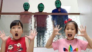 가면놀이는 어떻게 할까요? 서은이의 가면놀이 방탈출하기 Seoeun make Monster and Animal Masks