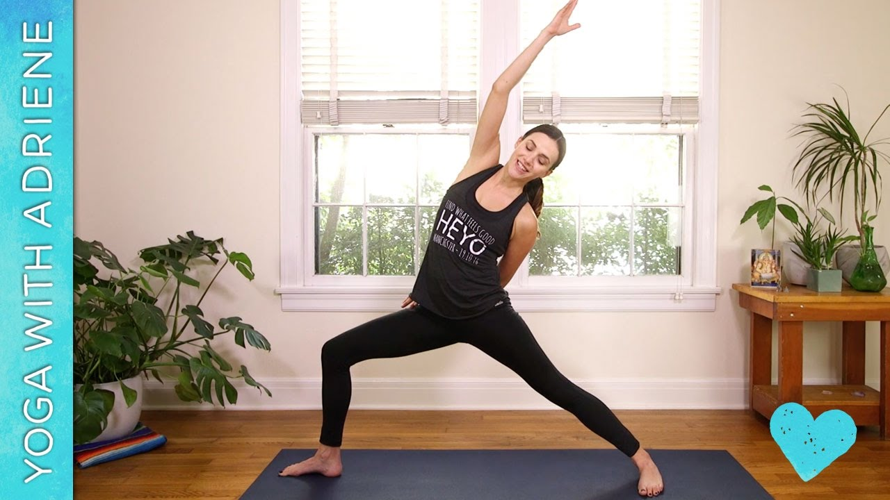 My top 5 Yoga With Adriene videos – MJCarty