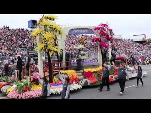 2017 Tournament of Roses Parade Off-Camera Footage