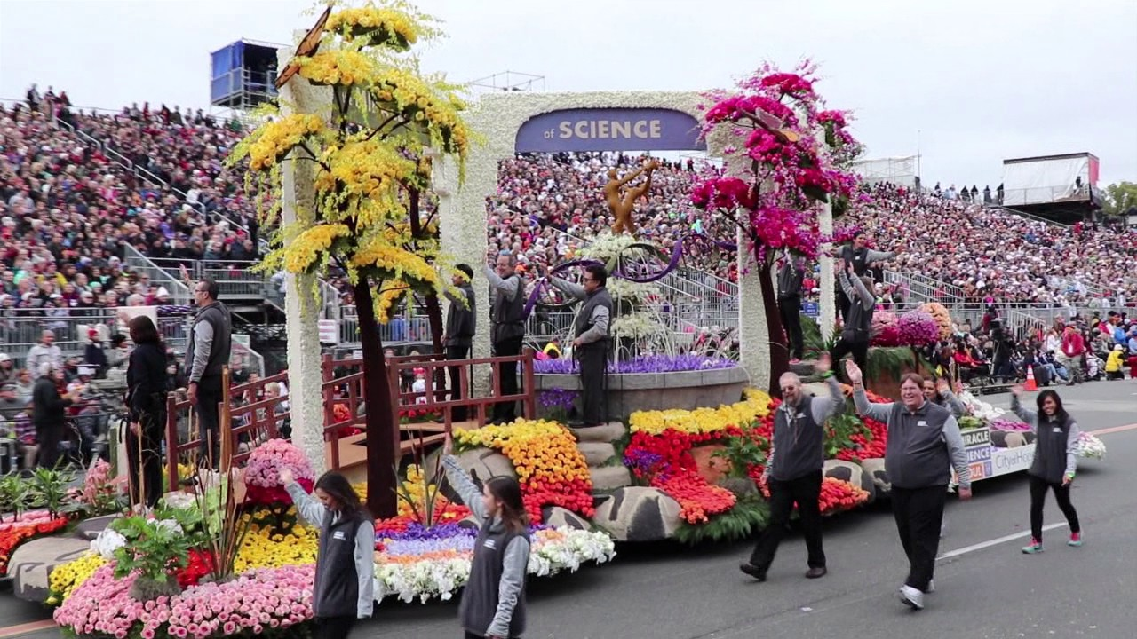 Tournament Of Roses Parade 2017 >> 2017 Tournament of Roses Parade Off-Camera Footage - YouTube