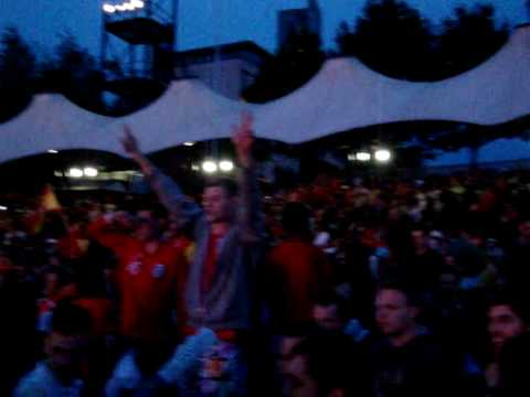 Crowd's Reaction during World Cup 2010 Finals Spain Vs Netherlands (caught in Manchester)