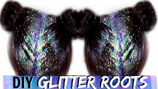 DIY: GLITTER ROOTS HAIR TUTORIAL | DAY 4 #SHAEMAS