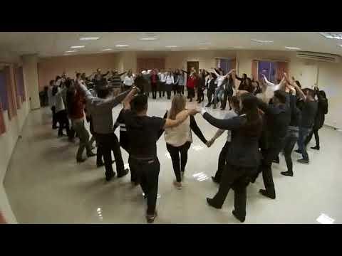 Palestra em Roda com danças circulares