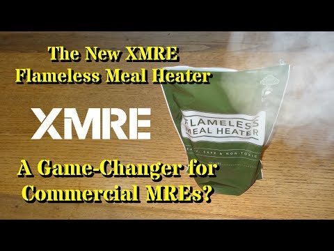 The New XMRE Flameless Ration Heater: A Game-Changer For Commercial MREs?