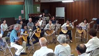 作曲:宮川彬良 演奏:福岡シンフォニックマンドリンアンサンブルギター...