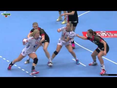 Germany VS Norway  Women's World Championship Denmark 2015 1/8th finals