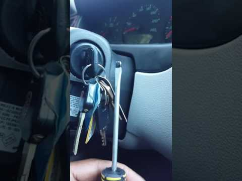 Keys stuck in 2007 Chevy Impala