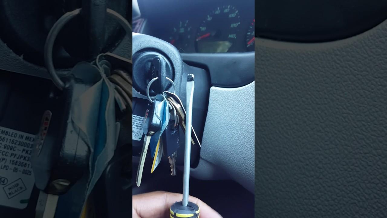 Keys Stuck In 2007 Chevy Impala