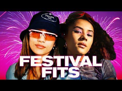 How To Really Do Festival Fashion! ~ NAYVA Ep #26 ~ FASHION & BEAUTY - Видео онлайн