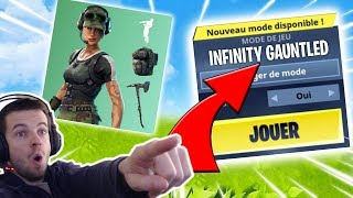 🔴 SKINS TWITCH and NEW MODE THANOS - INFINI GANT 🥇WINS 385 - FORTNITE BATTLE ROYALE [LIVE]
