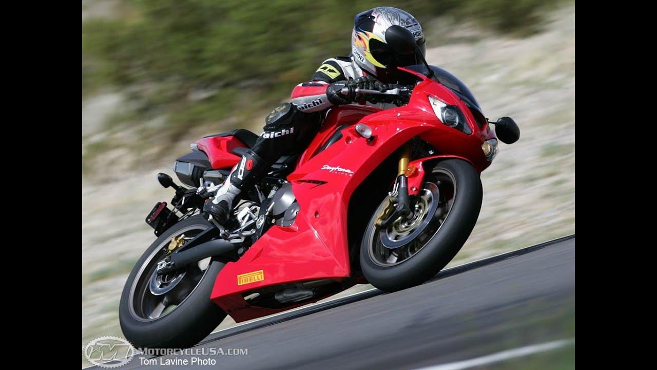 2006 Triumph Daytona 675 Track Test Motousa Youtube