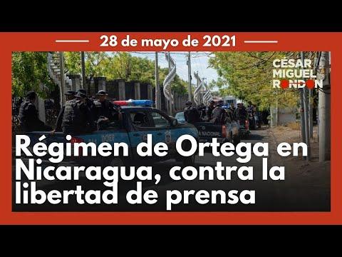 Régimen de Daniel Ortega cercó oficinas de 'El Confidencial' en Nicaragua