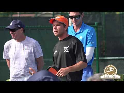 www.BallenIsles.TV -  PickleBall Grand Slam With World #1 Kyle Yates