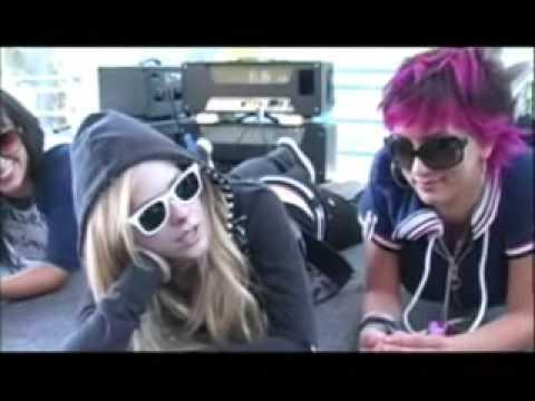 Avril Lavigne Interview Leno