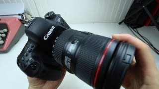 Canon 6D Mark II: unboxing, impressions, video test!