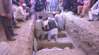 Funeral held for victims of Kabul wedding bombing