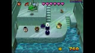 (N64) BomberMan 64 - The Second Attack - Walkthrough Part 2 - Aquanet (100%)