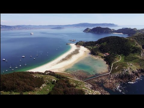 Cies Islands, enjoy the best beaches in Europe in Galicia, Northern Spain
