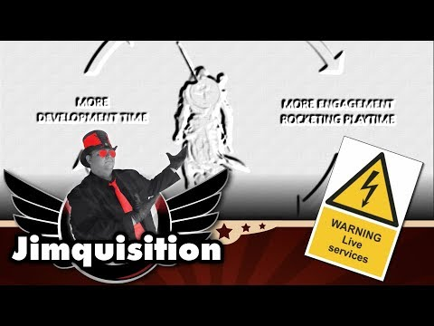 The Deadly Spiral Of Live Services (The Jimquisition)
