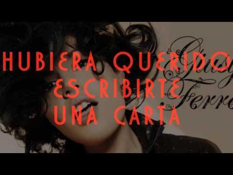 Giusy Ferreri - Ti Porto a Cena Con Me (Sub Español)