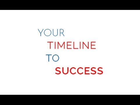 Your Timeline to Success
