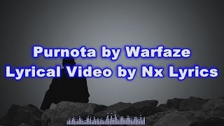 Purnota by warfaze lyrical video