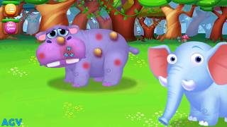 jungle doctor children learn how to care jungle animals education game for kids