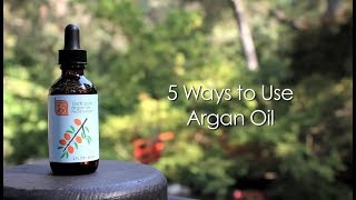 5 Ways to Use Argan Oil