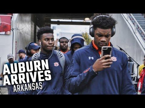 Auburn enters Razorback Stadium to face Arkansas