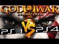 God of War 3 PS4 Remastered Comparison VS God of War 3 PS3 - 60fps 1080p