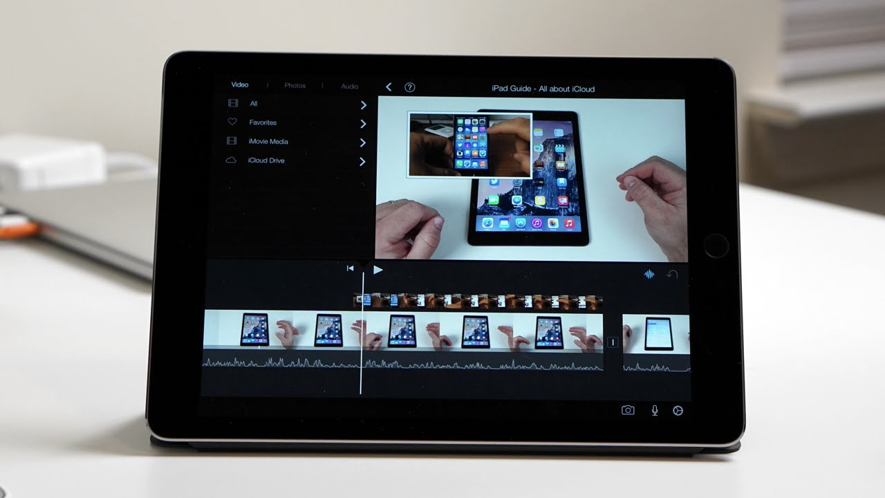 iMovie for iPad and iPhone - Picture in Picture - YouTube