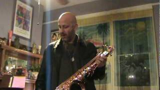 Ben Ellman plays the Saxgourmet Super 400 tenor
