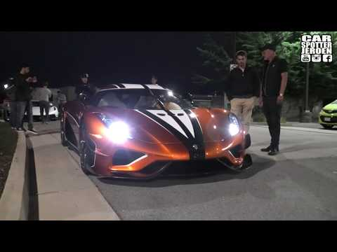 Koenigsegg Regera Kejsare driving in Electric MODE ⚡ To prank the Police for LOUD EXHAUST