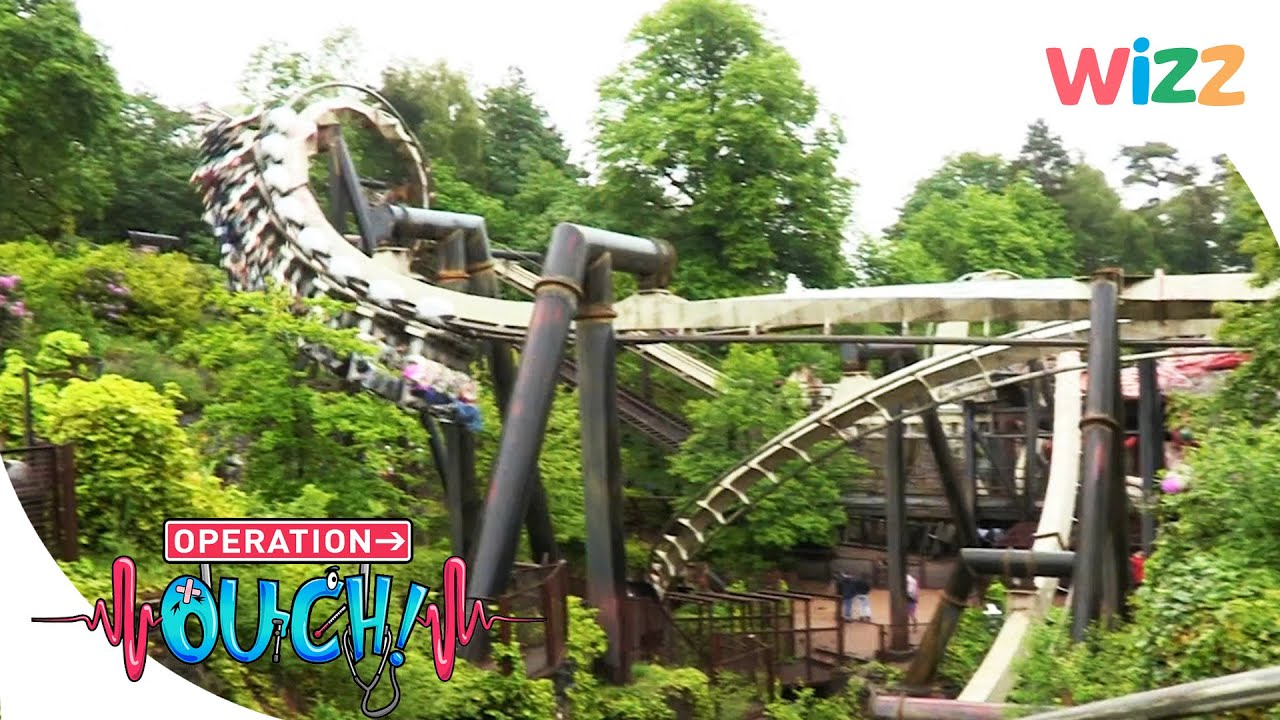@Operation Ouch   How Do Rollercoasters Affect Your Heart? 🎢❤️   Science for Kids  @Wizz