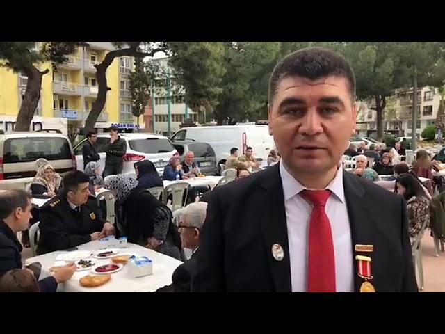 Türkiye Gaziler Vakfı şehitler günü anma hayrı...