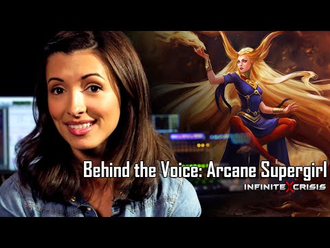 Behind the Voice: India de Beaufort as Arcane Supergirl