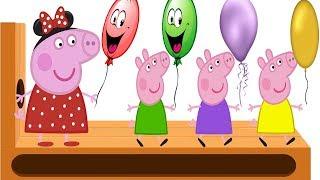 Learn Colors  Цвета Свинка Пеппа Учим Цвета  Развивающие мультики для детей Colours Peppa Pig