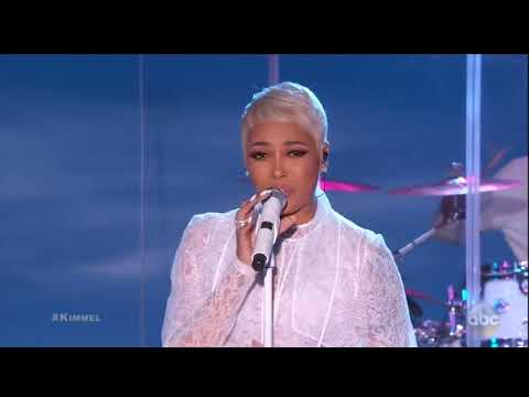 Monica - Angel Of Mine (Jimmy Kimmel Live) 2018