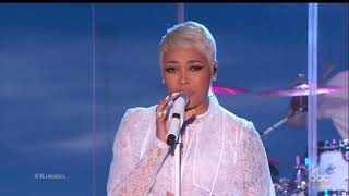 Monica - Angel Of Mine (Jimmy Kimmel Live) 2018