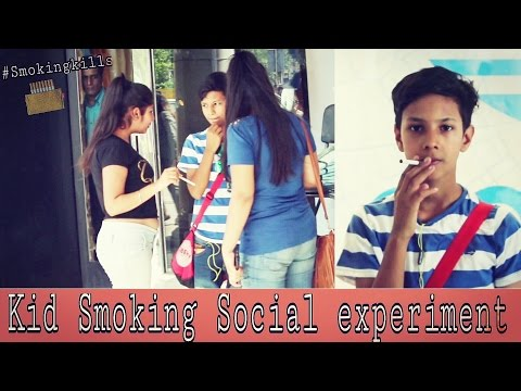 Kid Smoking Experiment  - Ayush yadav