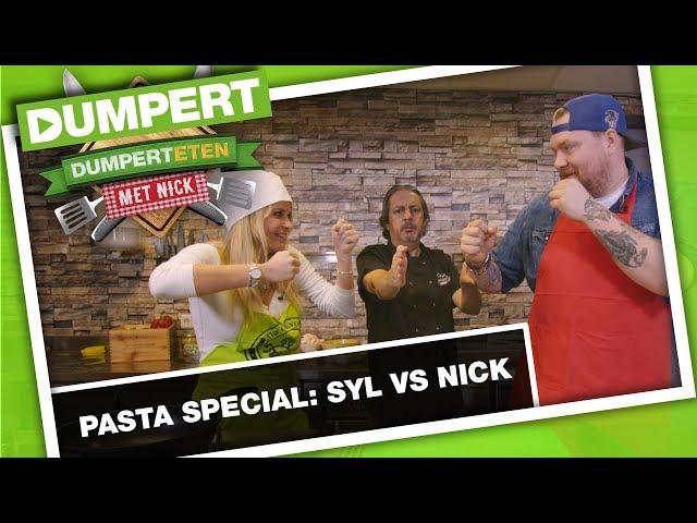 Wie kan beter pasta maken? Sylvana of Nick?   DumpertEten