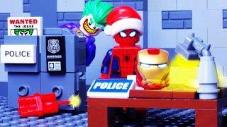 LEGO EXPERIMENTAL SUPERHEROES POLICE - PRISON BREAK