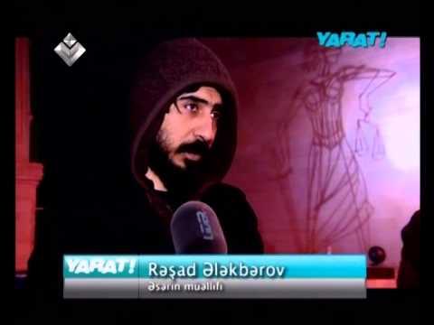 """Yarat!""""012 Baku Public Art Festival"""" Rashad Alakbarov"""