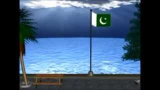 Pakistan National Song with URDU, BALOCHI, SINDHI, PASHTO, SHINA, GOJRI, PUNJABI & SARAIKI
