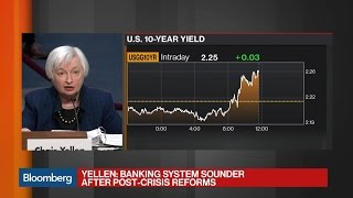 Fed's Yellen: Dodd-Frank Reforms Diminish Crisis Odds