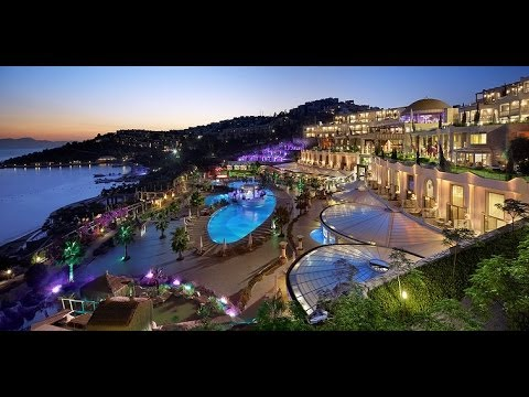 Sianji wellbeing resort bodrum hotel turkey ex gardens of for Luxury beach hotels