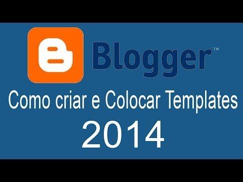 Aula 1 Como Criar um Blog e colocar Template 2014