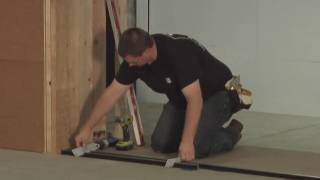 how to install a stacking biparting multislide door system
